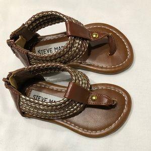 Steve Madden Baby Sandals Sz 5
